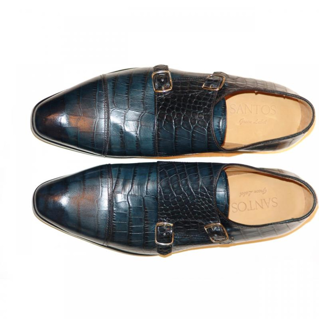 Pelle Line Exclusive Colmar Double Monk Strap Navy