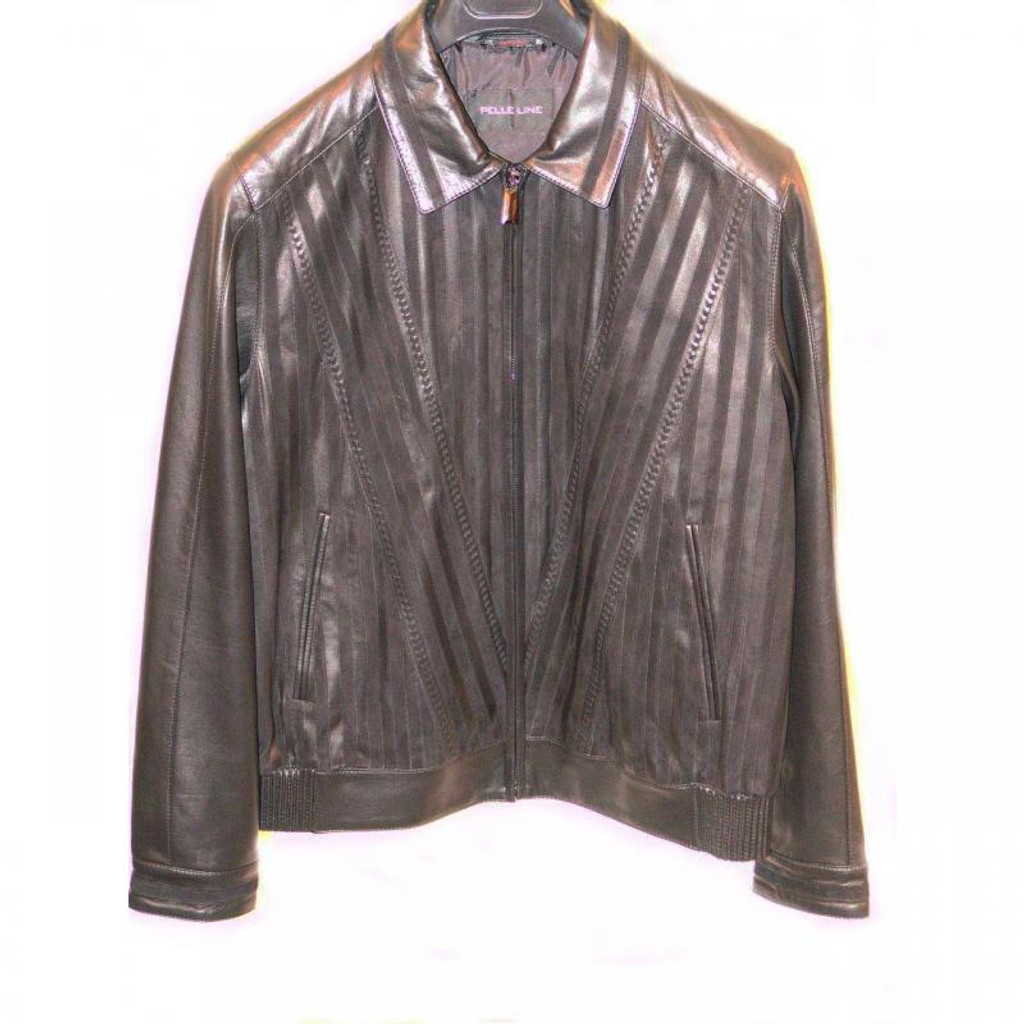 Pelleline 85733 Jacket Black, Light Brown, Navy