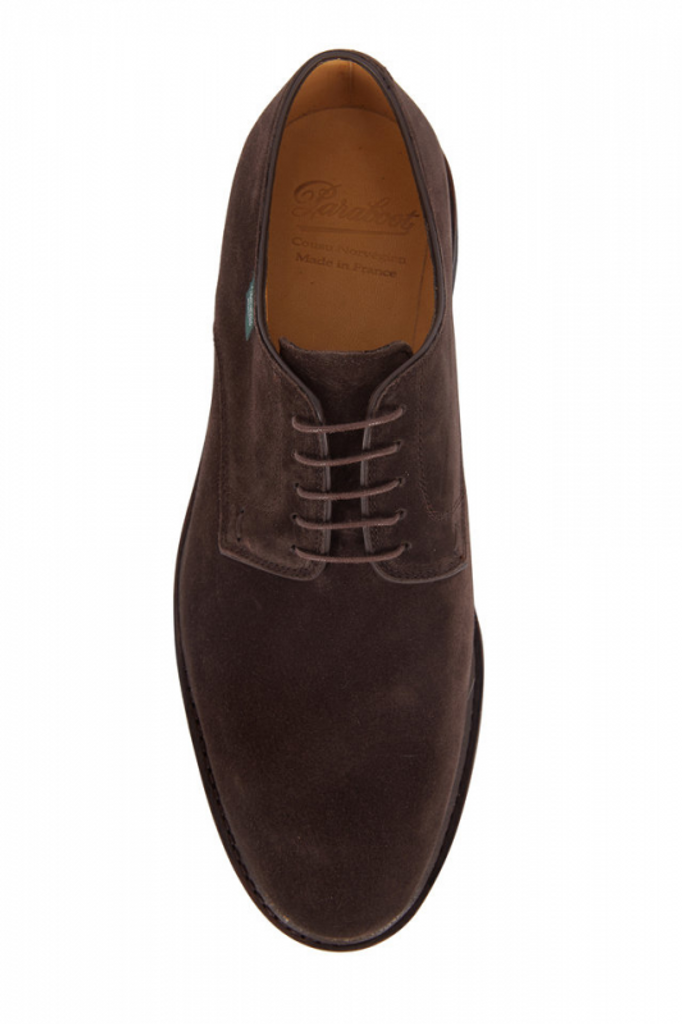 Paraboot Frenaye Brown Suede
