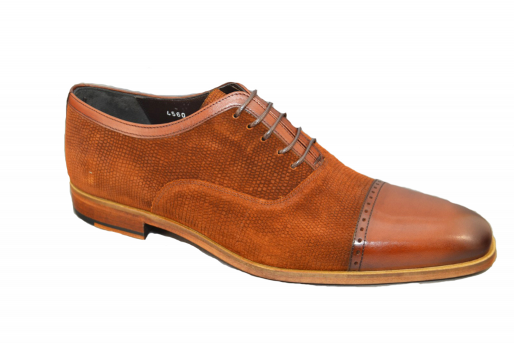 Corrente 4560 Cap toe  Lace up- Rust