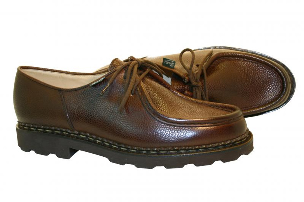 Paraboot Michael Leather Lace Up Grain Cafe
