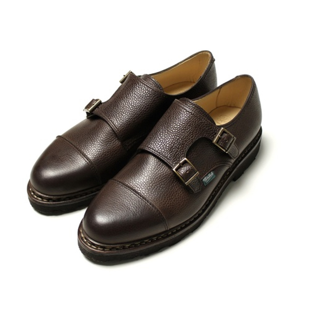 Paraboot William Ebene Dark Brown Grain