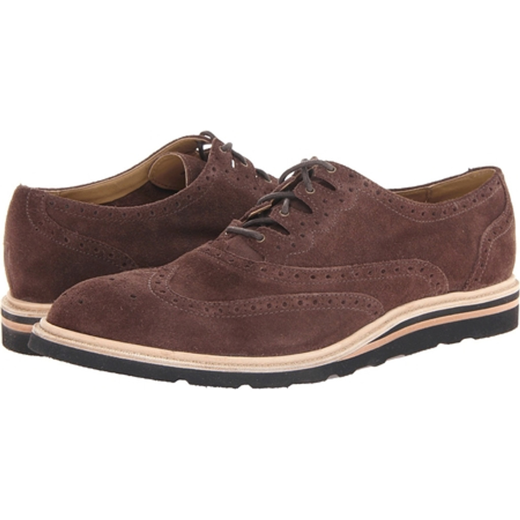 Cole Haan Mens Christy Wdg. Ghilley Brown Suede