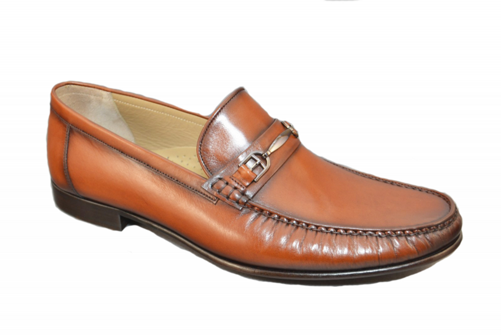 Corrente 3898 Handsewn  loafer- Tan