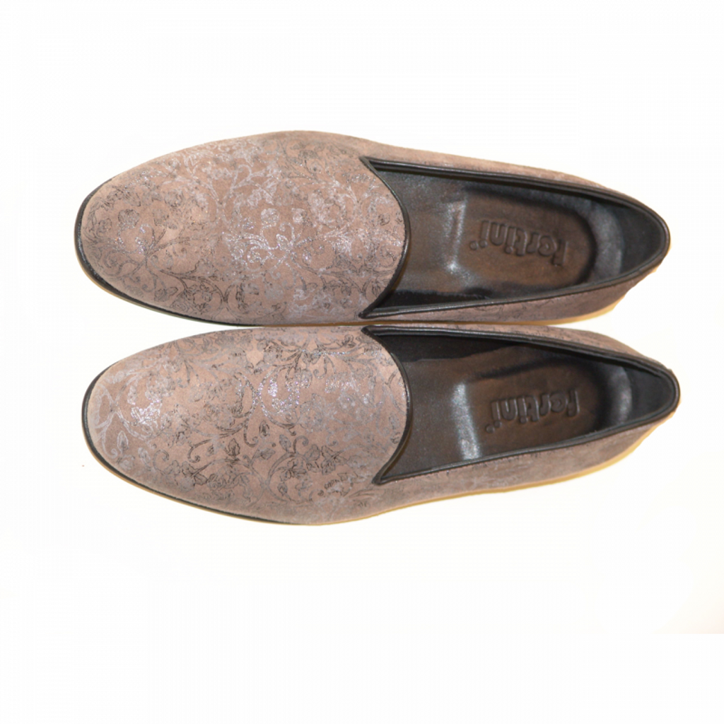 Pelle Line Exclusive 80200 Plain Loafer Grey Print