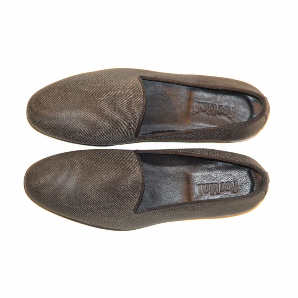 Pelle Line Exclusive 80200 Plain Loafer Grey