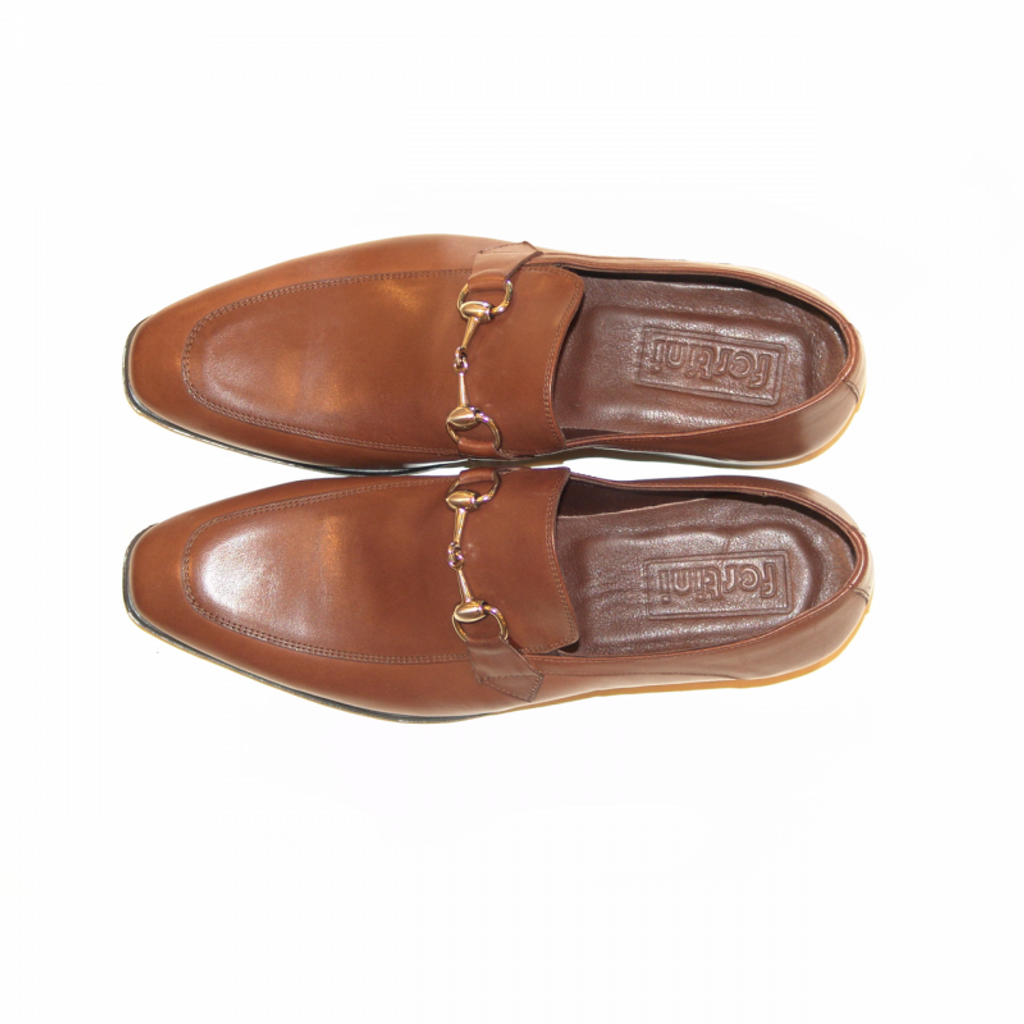 Pelle Line Exclusive C152 Bit Buckle loafer Brown