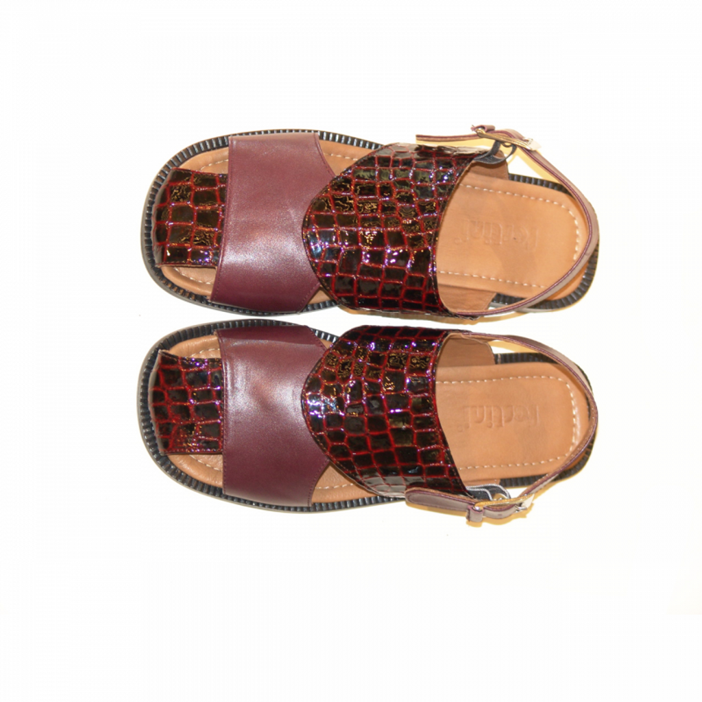 Pelle Line Exclusive SS50 Sandal Burgundy