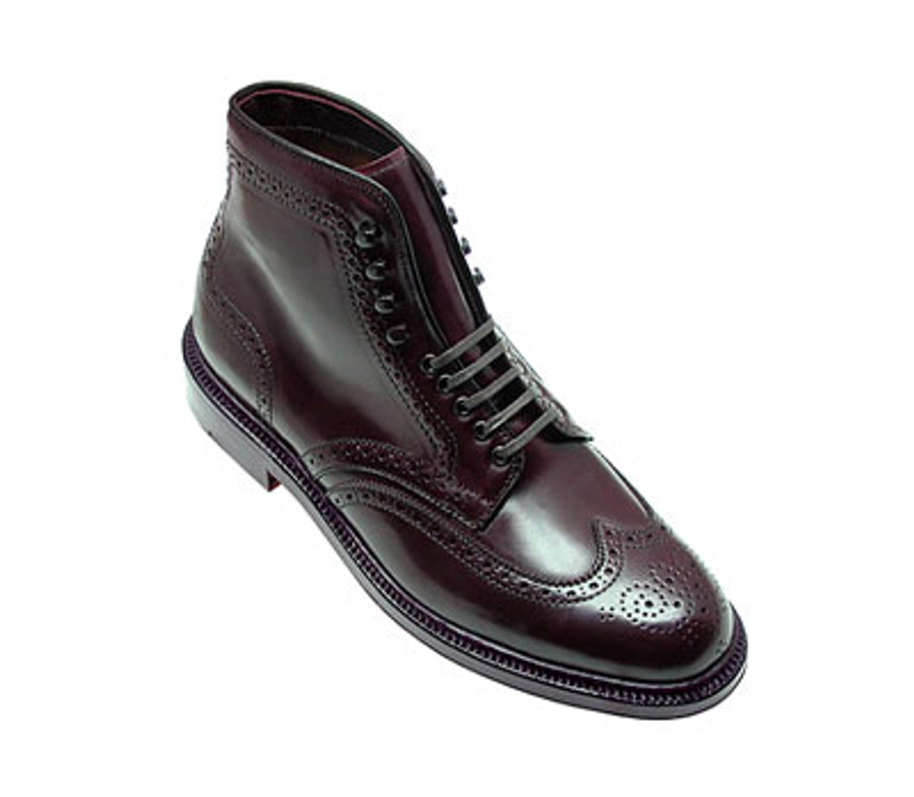 Pelle Line Exclusive Alden Wingtip Boot 4461 Dark Burgundy Cordovan