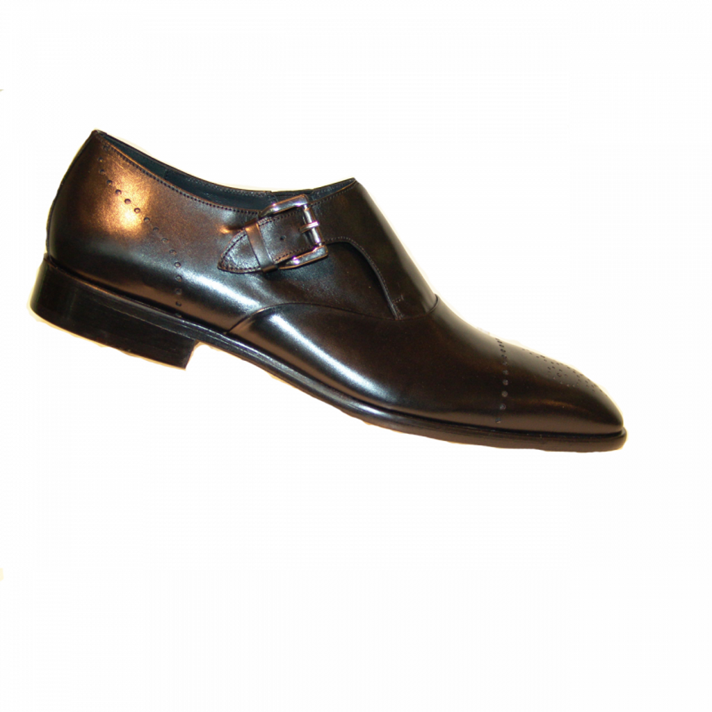 Corrente 4313 Monk strap- Black