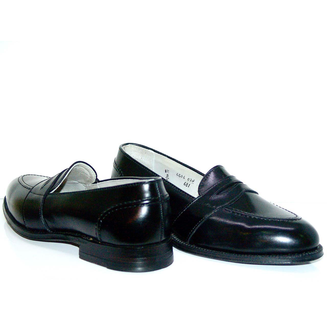 Alden Full Strap Slip On 681 Black