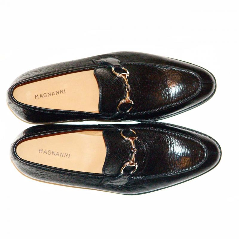 Magnanni 13908 Black Full Peccary Leather Very Soft