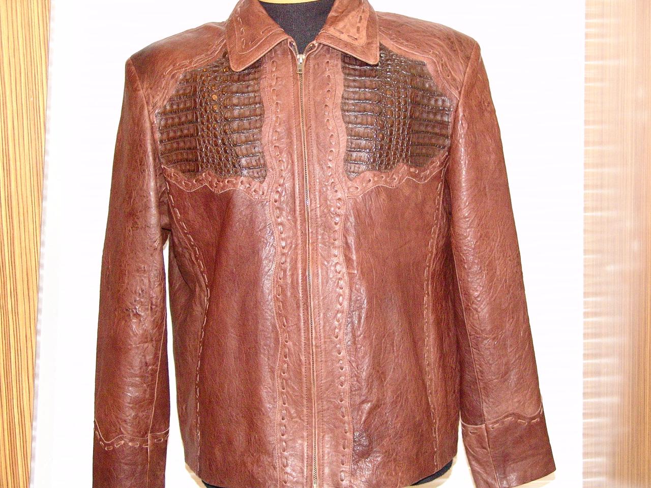 Pelleline Hornback Jacket Brown