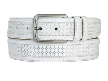 Mezlan 9905 Belt White