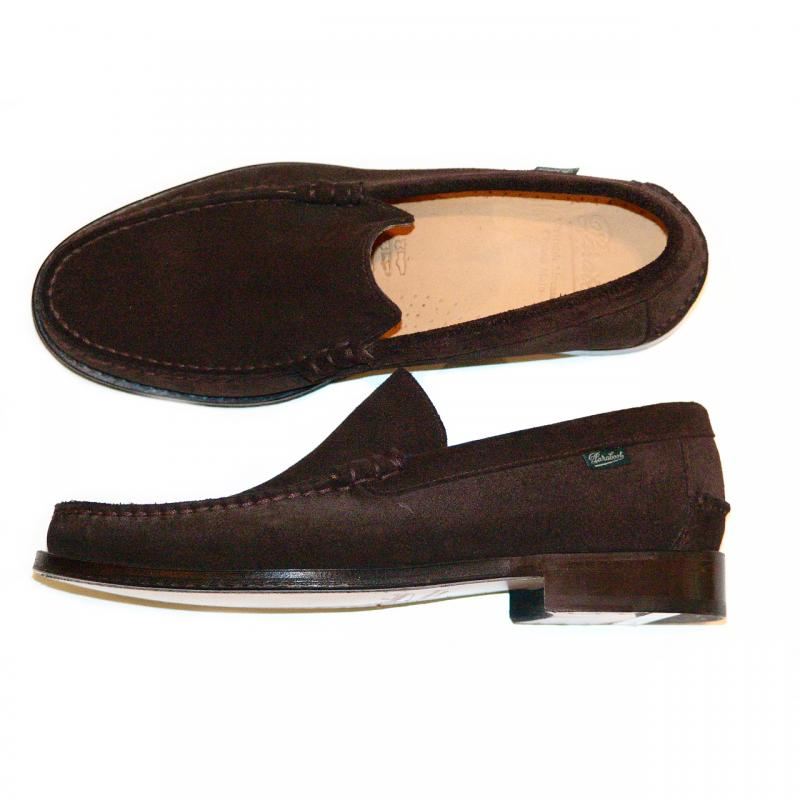 Paraboot Yale Leather Loafer Brown Suede