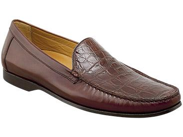 Mezlan, Costanzo, Brown Exotic Combination Loafer