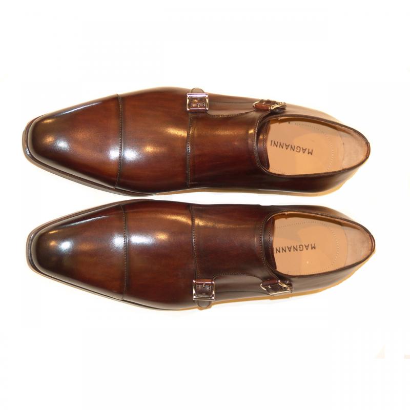Magnanni Seleccion Collection 8112 Double Monkstrap Brown