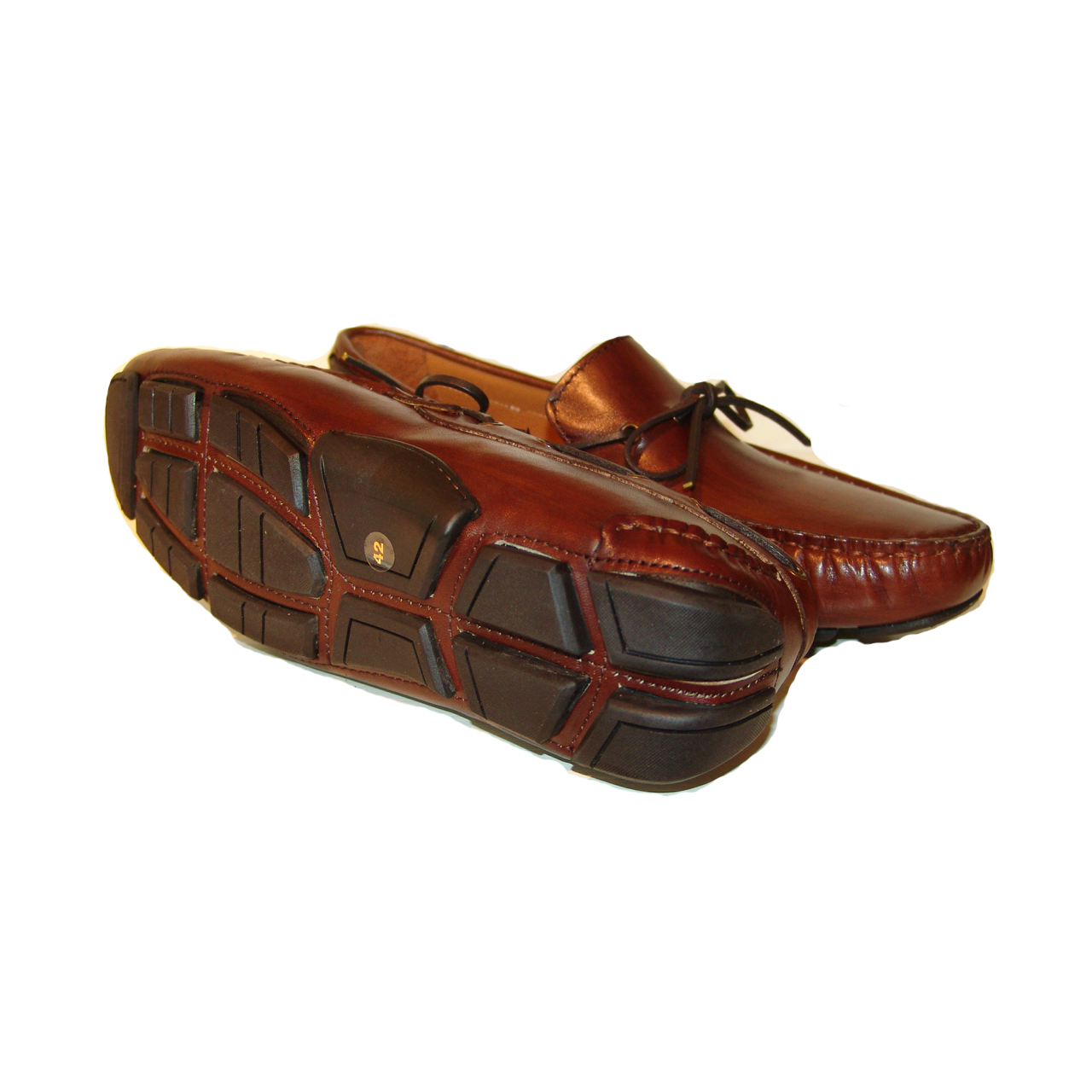 Pelle Line Exclusive 7810- Brown driving shoes