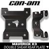 Can Am Maverick X3 Rear Radius Rod Plate (DOUBLE SHEAR)