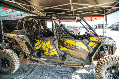 Polaris RZR 4 Seat Flat Top Cage (No Tail)