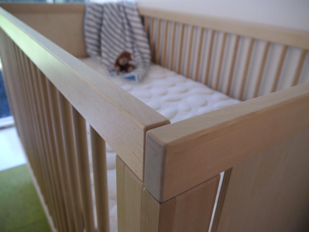 Ulm all birch crib
