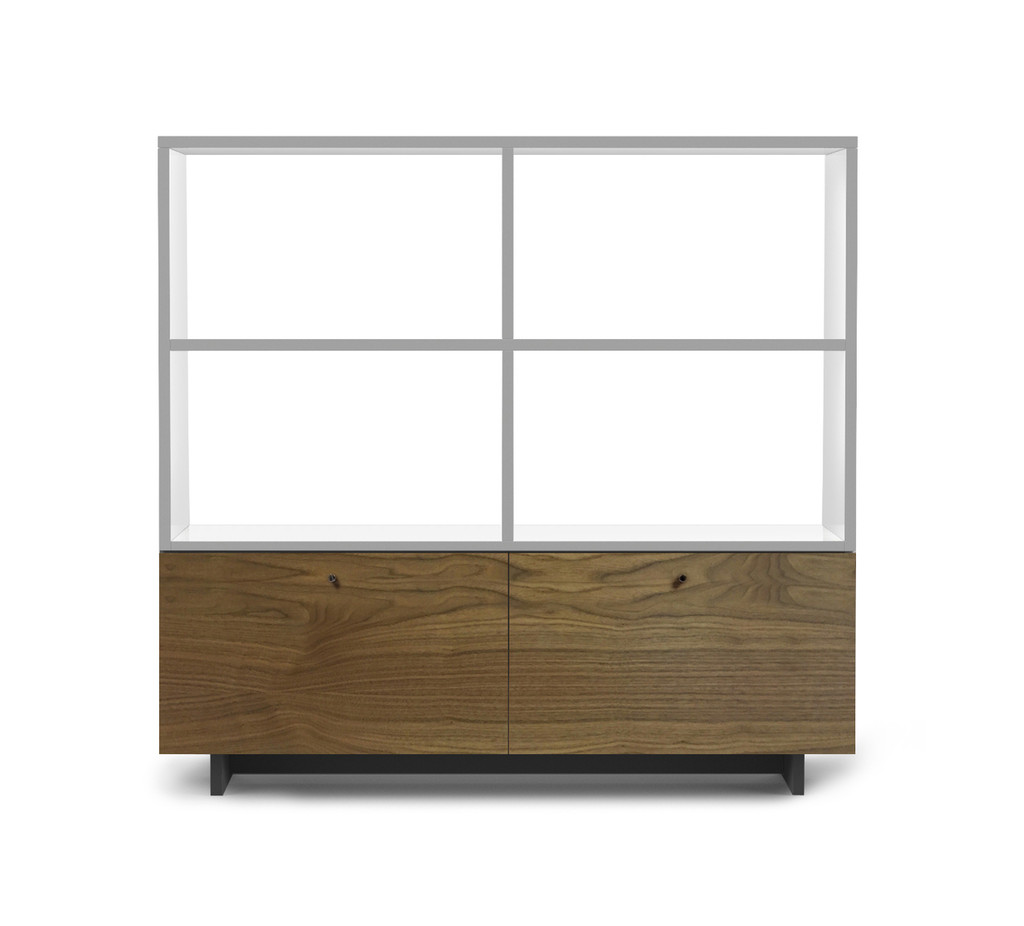 Roh Bookshelf Walnut/Finish