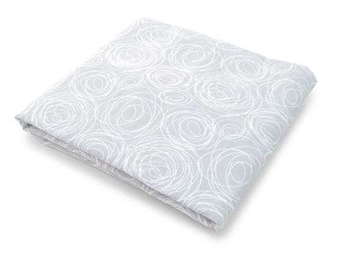 Spun Organic Crib Sheet - Grey