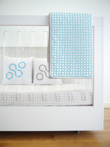 Join Organic Quilt - Blue