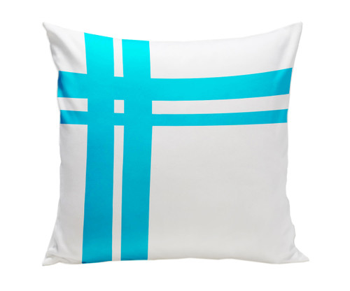 Hashtag Pillow - Blue