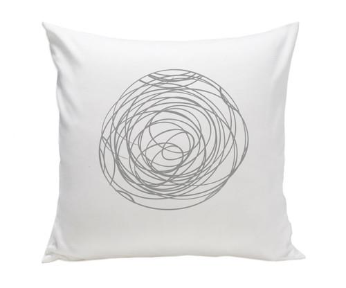 Spun Pillow - Grey