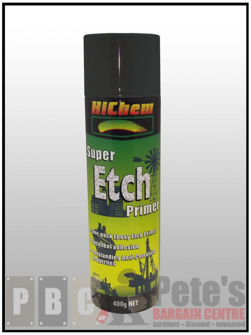 SUPER ETCH PRIMER ***Aerosol *** Black