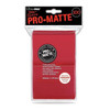 Ultra Pro Pro-Matte Sleeves Standard (100) - Red