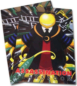 Assassination Classroom File Folder - Koro Sensei Targetted