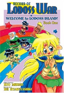 Record of Lodoss War Welcome to Lodoss Island GN 01