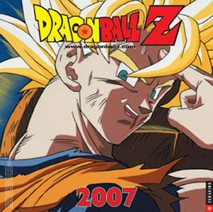 Dragon Ball Z 2007 Calendar #14390