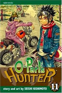O-Parts Hunter Graphic Novel 11