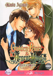 Golden Prince and Argent King Graphic Novel