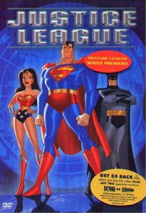 Justice League DVD