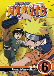 Naruto DVD 06 Powerful New Rivals
