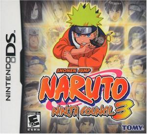 Naruto Ninja Council 3 (DS)