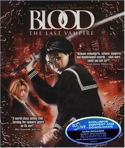 Blood the Last Vampire Blu-ray (Live Action)
