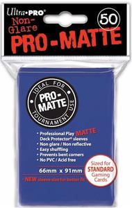 Ultra Pro Pro-Matte Sleeves Standard - Blue (Matte)