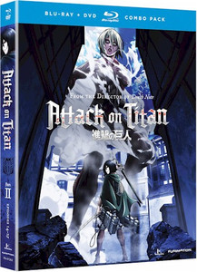 Attack on Titan Part 2 (Blu-ray/DVD Combo)