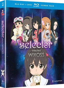 Selector Infected WIXOSS Complete Series (Blu-ray/DVD)