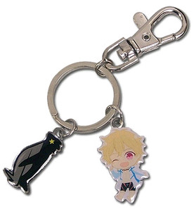 Free! Metal Keychain - Nagisa SD & Icon