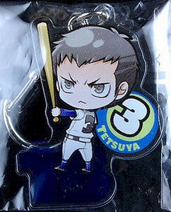 Ace of Diamond Acrylic Keychain - Tetsuya Yuishiro