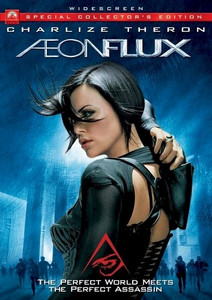 Aeon Flux Live Action DVD