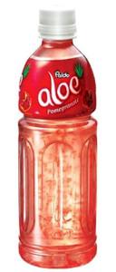 Aloe Natural Drink (500ml) - Pomegranate