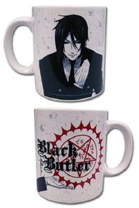 Black Butler Mug - Sebastian White