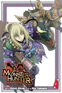 Monster Hunter: Flash Hunter Graphic Novel 04
